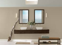 best neutral sand beige paint colors for modern bathroom with wall