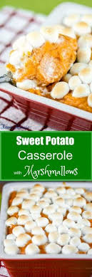 brown sugar glazed sweet potatoes with marshmallows recipe