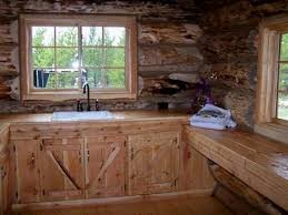 Shopping For The Right Rustic Kitchen Cabinets For A Log Cabin - Cabin kitchen cabinets