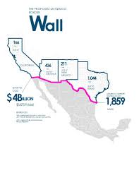 american infographic trump wall