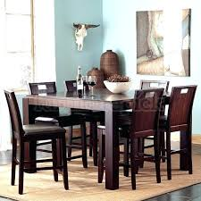 counter height dining table with swivel chairs dining room tables counter height raisin 5 piece counter height