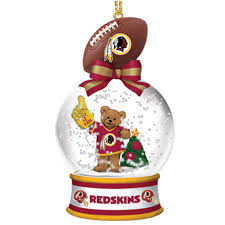 washington redskins snow globe ornaments your 1st one is free