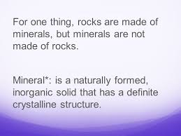 The Way A Mineral Reflects Light What Is A Mineral Identifying Minerals You May Think That All