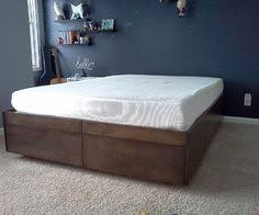 Diy Platform Bed With Drawers Plans by Platform Bed With Drawers Platform Beds Drawers And Boys
