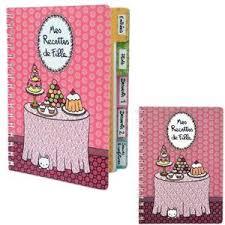 cahier de cuisine cahier de recette de cuisine achat vente pas cher