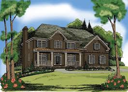traditional 2 story house plans 107 best house plans images on houses elevation