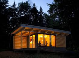 gallery chalet exp a tiny modern cabin for quebec u0027s wilderness