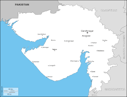India Map Political Blank Printable by Gujarat Free Maps Free Blank Maps Free Outline Maps Free Base Maps