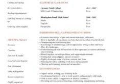hair stylist resume sample hairdressing cv template 7 download