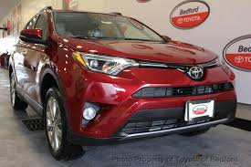 toyota awd 2018 toyota rav4 limited awd at toyota of bedford serving