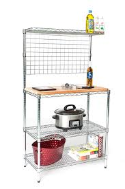 Wire Shelf Cart Butcher Blocks For Wire Shelves U2013 Omega Products Blog