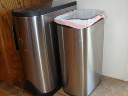 kitchen kitchen trash cans and 48 tall wastebasket trash can bed