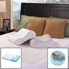 Comforpedic Gel Memory Foam Mattress Topper Beautyrest Gel Memory Foam Contour Pillow Standard
