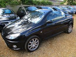 Convertible Peugeot Cars For Sale At Motors Co Uk