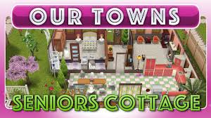 sims freeplay senior grandmas cottage original house design