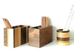 Wood Desk Accessories Wooden Desk Accessories Kresofineart