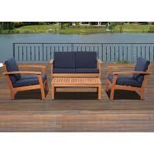 Patio Furniture Woodland Hills Wood Patio Furniture You U0027ll Love Wayfair