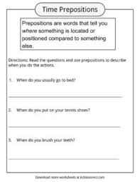 prepositions definition worksheets u0026 examples in text for kids