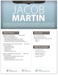 Resume Template Modern by Free Contemporary Resume Templates Free Modern Resume Template 4