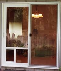 Patio Door With Pet Door Built In Pet Doors Installation Replacement And Repair