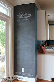 framed chalkboard for kitchen gallery with closet door picture
