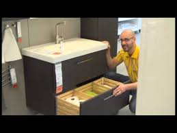 Ikea Bathroom Vanity Reviews by Godmorgon Sink Cabinet Ikea Home Tour Youtube