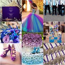 wedding trends blue wedding color themes for winter 2013 2014