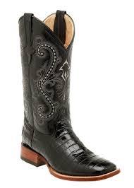 ferrini s boots size 11 boots mens cowboy caiman gator print black 40793 04