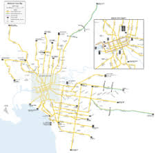 melbourne tram map trams in melbourne