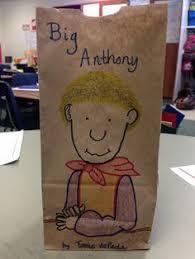 paper bag book report template character traits paper bag activity classroom