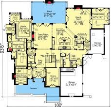 house plans with butlers pantry 4 bedrooms house plan with exterior 39222st