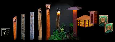 Outside Landscape Lighting - temple garden outdoor lighting where form meets function