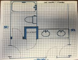 5x7 Bathroom Layout Cost Estimate For Bath Remodel Texags