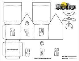 printable model house template mel stz wee houses 124 links templates tutorials etc
