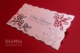 Beauty Spa Business Cards Rose Lace Business Cards Flower Lace Rose