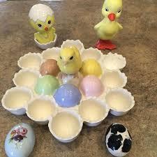 ceramic easter eggs best decorative ceramic easter egg holder with 2 2