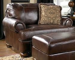 fancy leather chair and a half with ottoman 29 in living room sofa