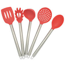 Red Kitchen Utensil Set - utensils kitchen promotion shop for promotional utensils kitchen