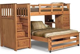 bunk bed twin top queen bottom home design ideas