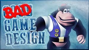 gaming design bad design kong 64
