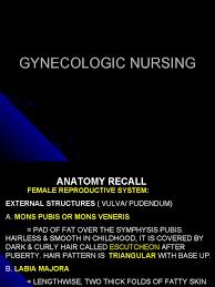 hairless pubis gynecologic nursing vagina uterus