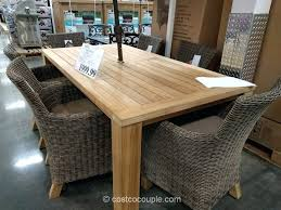 large outdoor dining table teak outdoor dining table costco patio furniture bay table teak
