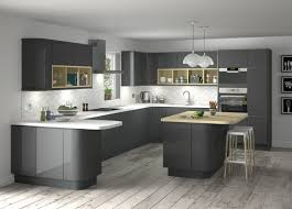 deco cuisine grise cuisines cuisine grise deco idee moderne astuces newsindo co