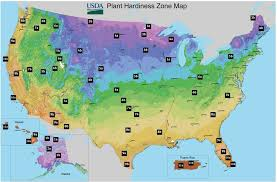 Garden Zone Map California - hardiness zones in the usa
