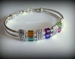 custom birthstone bracelets birthstone bracelet for mothers jewelry
