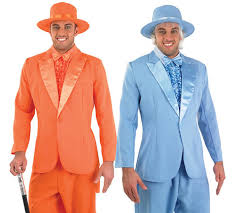 dumb and dumber costumes mens suit dumb dumber harry lloyd fancy dress costume pimp