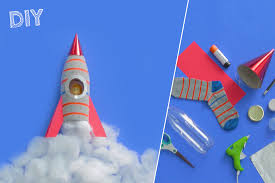 diy sock space rocket craft fisher price