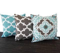 Grey Decorative Pillows Brown And Grey Throw Pillows Ingeflinte Com