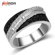 luxury engagement rings 2017 women black zirconia wedding ring jewelry fashion luxury