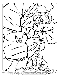 prodigal son coloring pages coloring